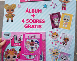 Album cromos LOL Surprise