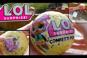 Portada video abriendo LOL Surprise Confetti Pop