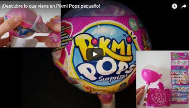 Vídeo Pikmi Pops pequeño