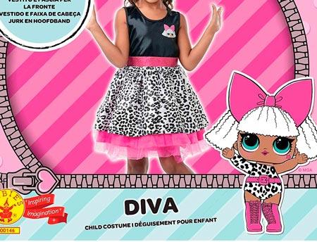 Disfraz LOL Surprise Diva
