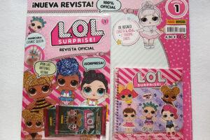 Revista LOLSurprise de Panini