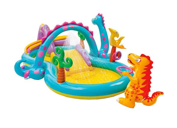 Juegos hinchable piscina