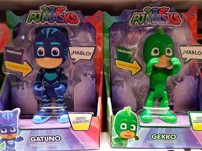 PJMAsks Gatuno Gekko muñecos