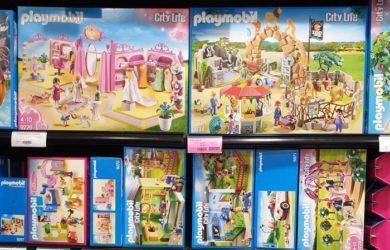 Playmobil niño niña