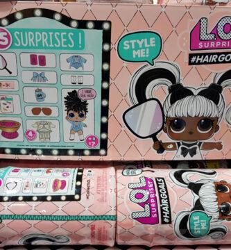 LOL Surprise Hairgoals caja