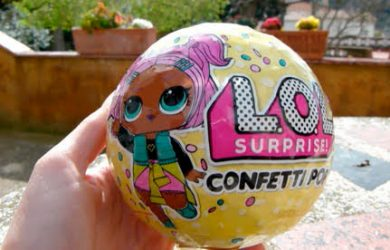 bola lol surprice confetti pop