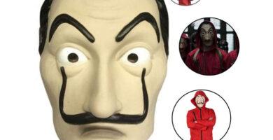 mascara dalí la casa de papel