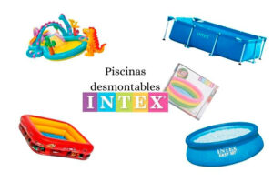 piscinas desmontables de Intex