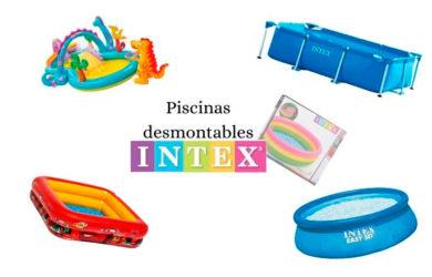 piscinas desmontables de Intex